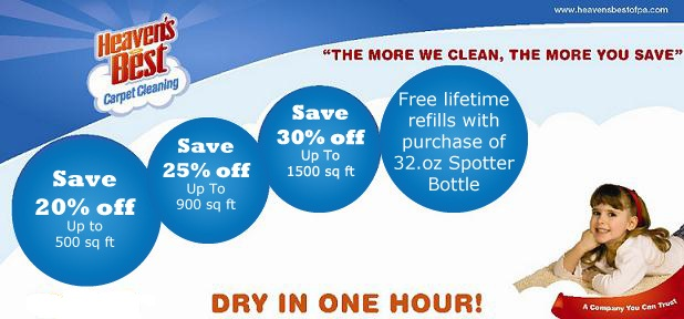 Heavens Best Carpet And Upholstery Cleaning